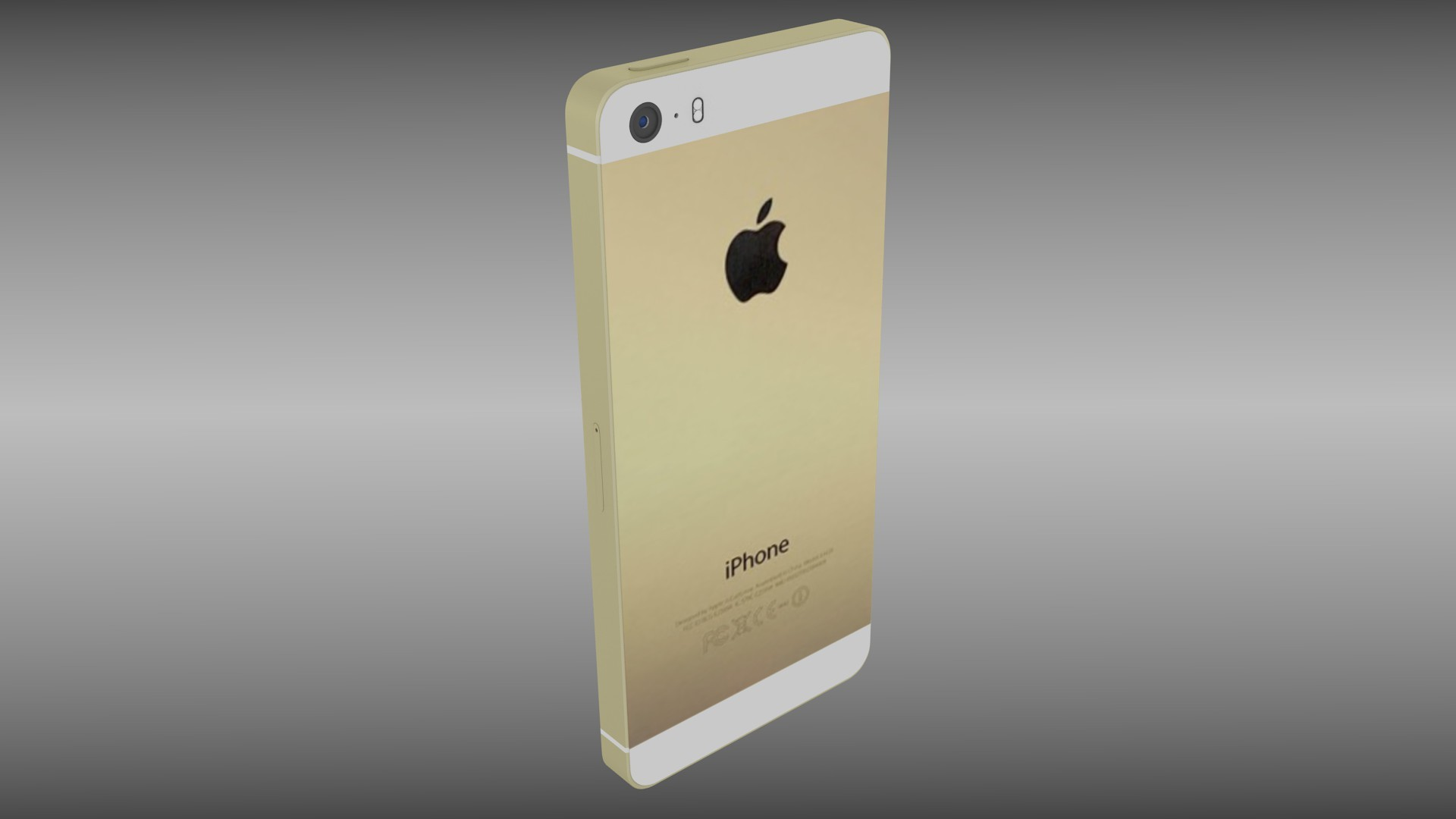 Iphone 5S Silver Gray Gold By Dragosburian
