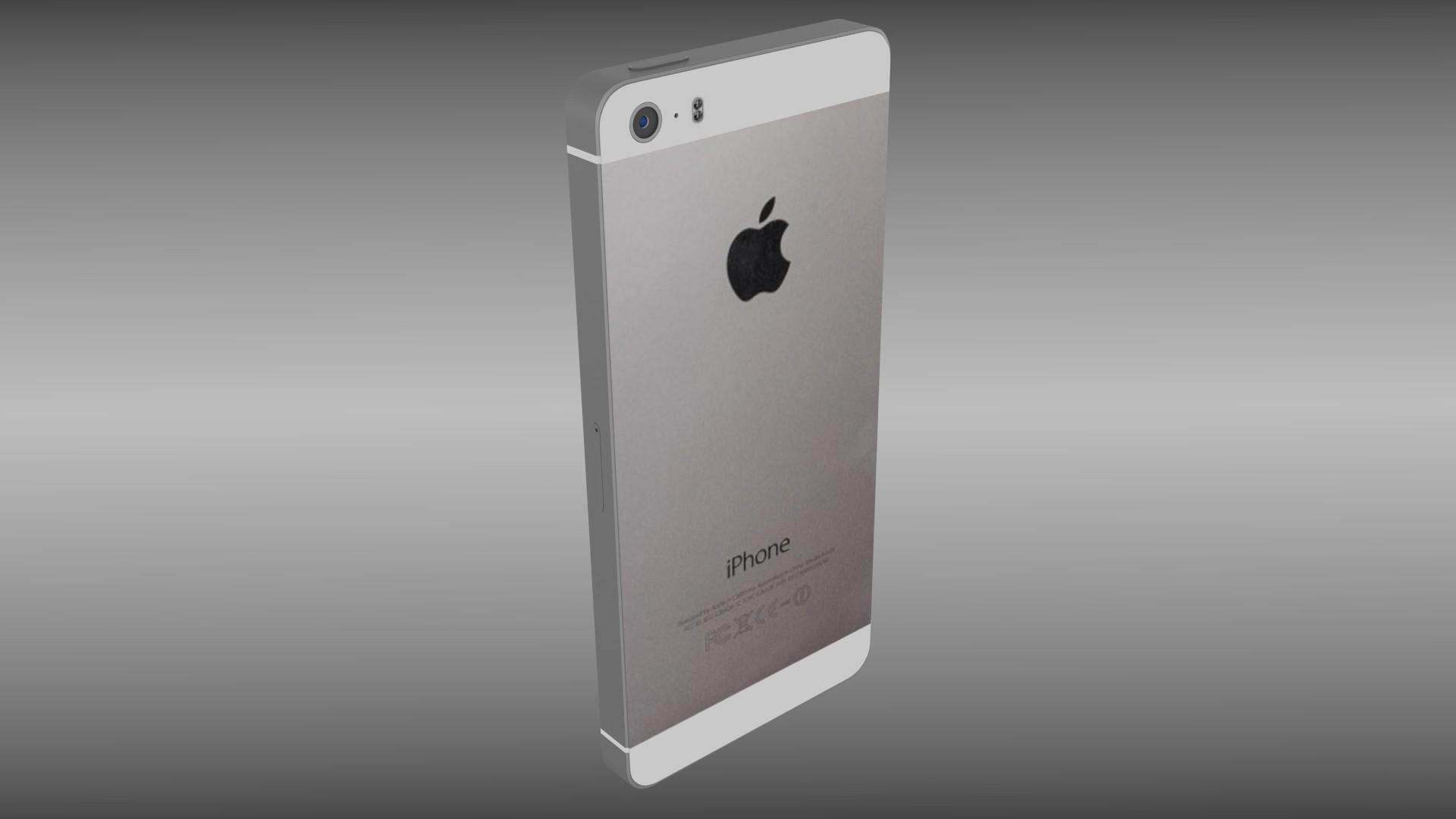 Wonderlijk Iphone 5S silver/gray/gold by dragosburian   3DOcean RH-37