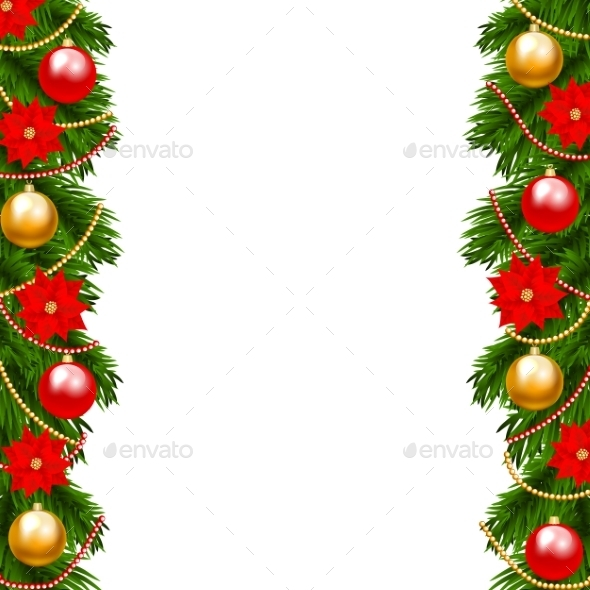 Christmas Garland - Christmas Seasons/Holidays