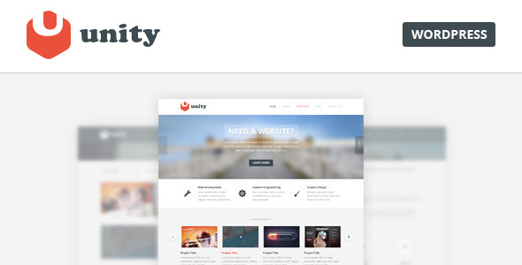 Unity – Multipurpose WordPress Theme
