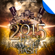 Epic New Year Bash Party Flyer Template
