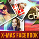 Christmas Facebook Timeline Cover 2 - GraphicRiver Item for Sale