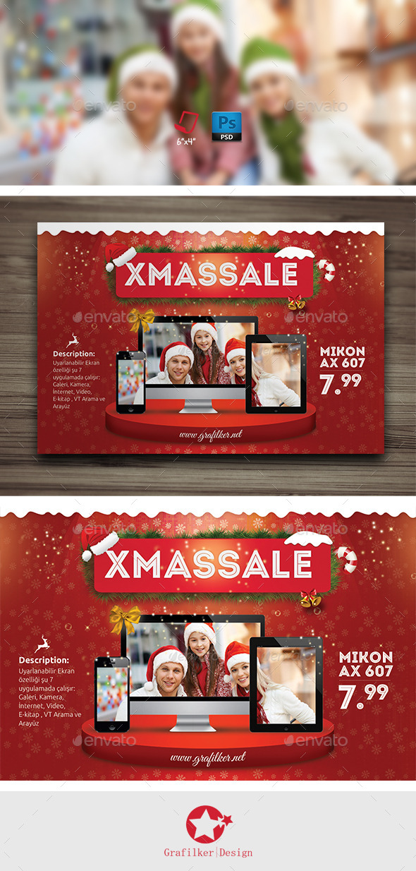 Christmas Promotion Flyer Templates - Corporate Flyers