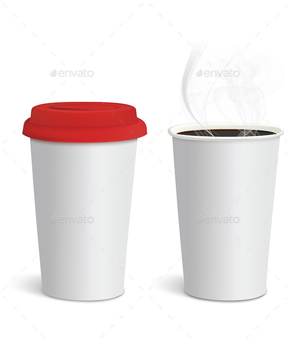 Take-out Coffee - Food Objects