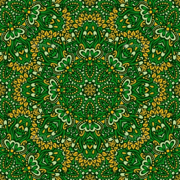 Arabesque Seamless Pattern. - Patterns Decorative