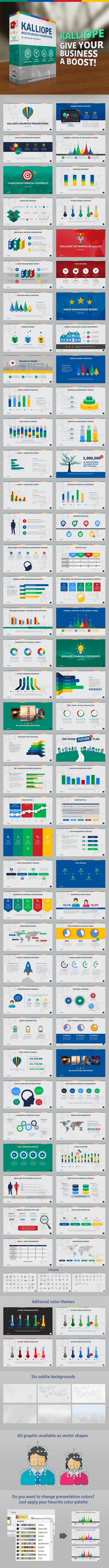 Kalliope PowerPoint Template - PowerPoint Templates Presentation Templates
