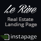 Lerive Real Estate Landing Page For Instapage - ThemeForest Item for Sale