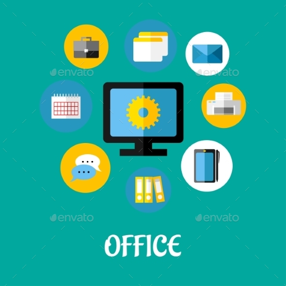 Office Icon - Communications Technology