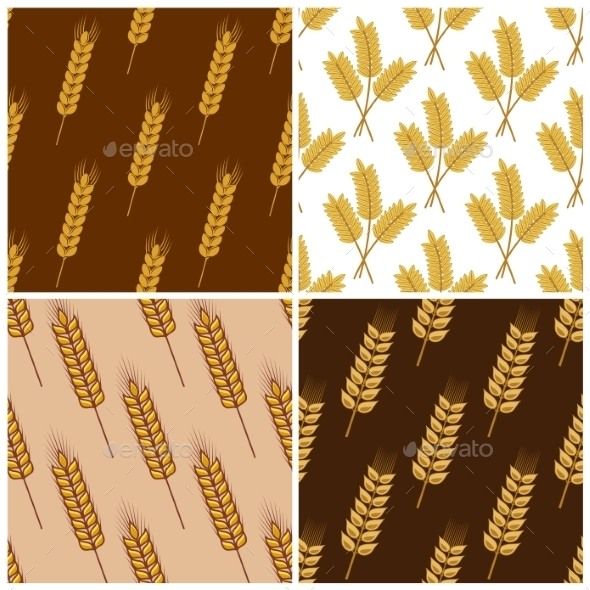 Wheat Pattern - Patterns Decorative