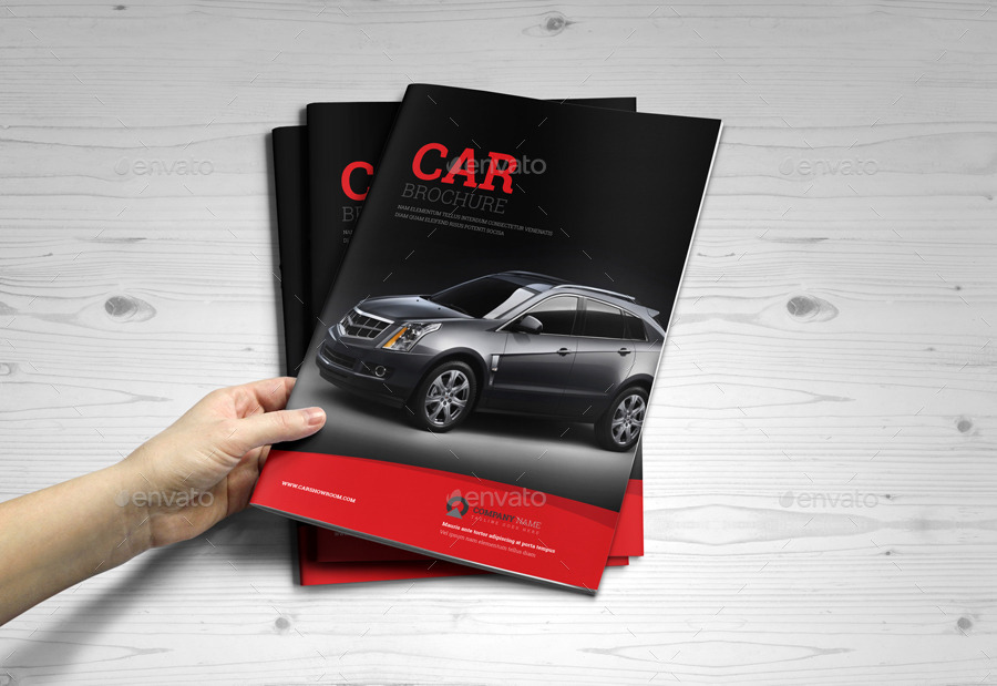 automobile brochure design automotive car brochure catalog indesign template by