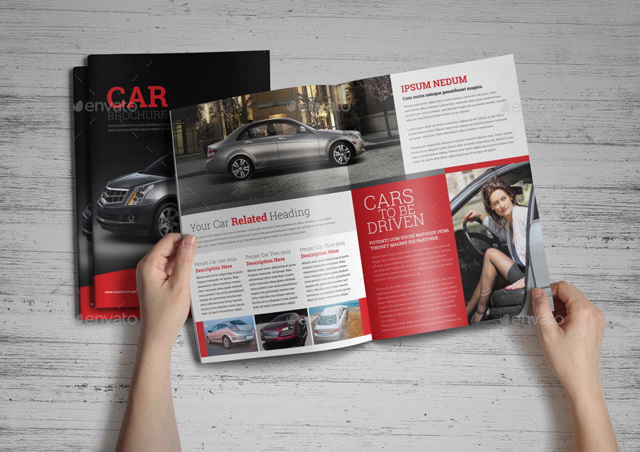 automotive car brochure catalog indesign template catalogs brochures preview image set151jpg