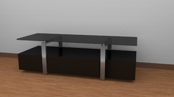 TV table - 3DOcean Item for Sale