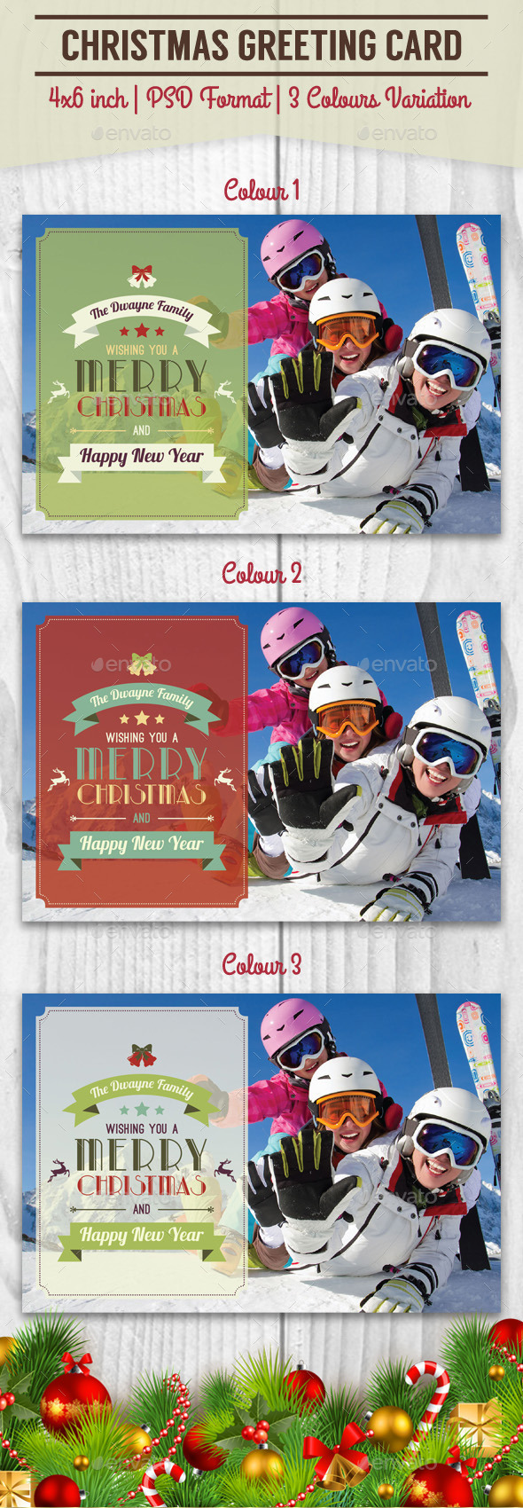 Christmas Greeting Card - 2 - Greeting Cards Cards & Invites