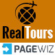 RealTour - Pagewiz Travel & Vacation Landing Page Nulled