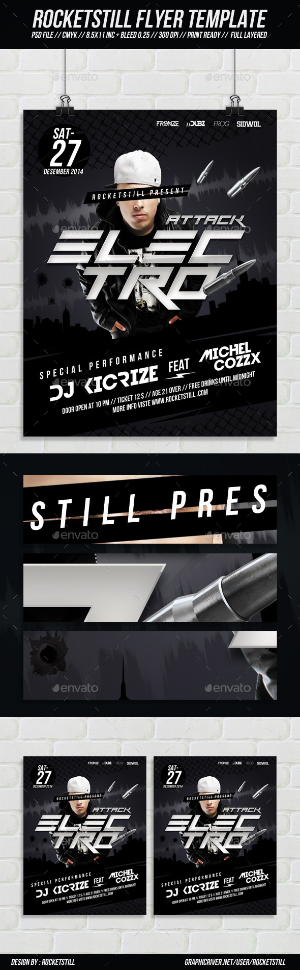 Attc Flyer  - Clubs & Parties Events