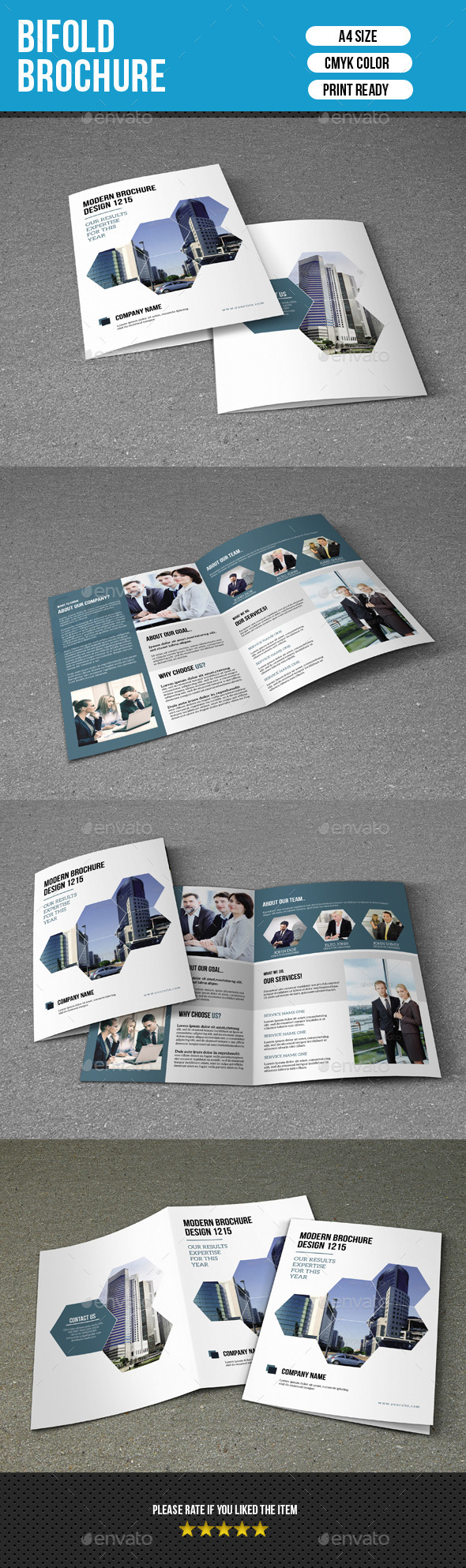 Bifold Brochure for Business-V161 - Corporate Brochures