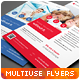 Clean Minimal Multipurpose Flyers vol. 5 - GraphicRiver Item for Sale