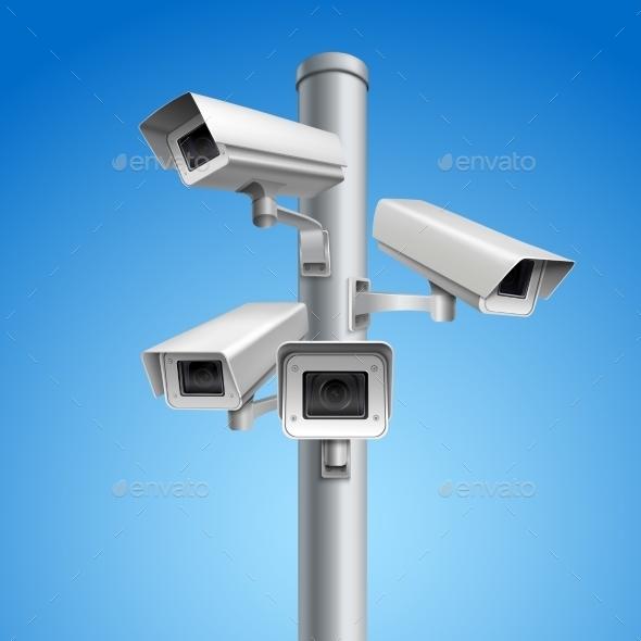 Surveillance Camera Pillar - Technology Conceptual