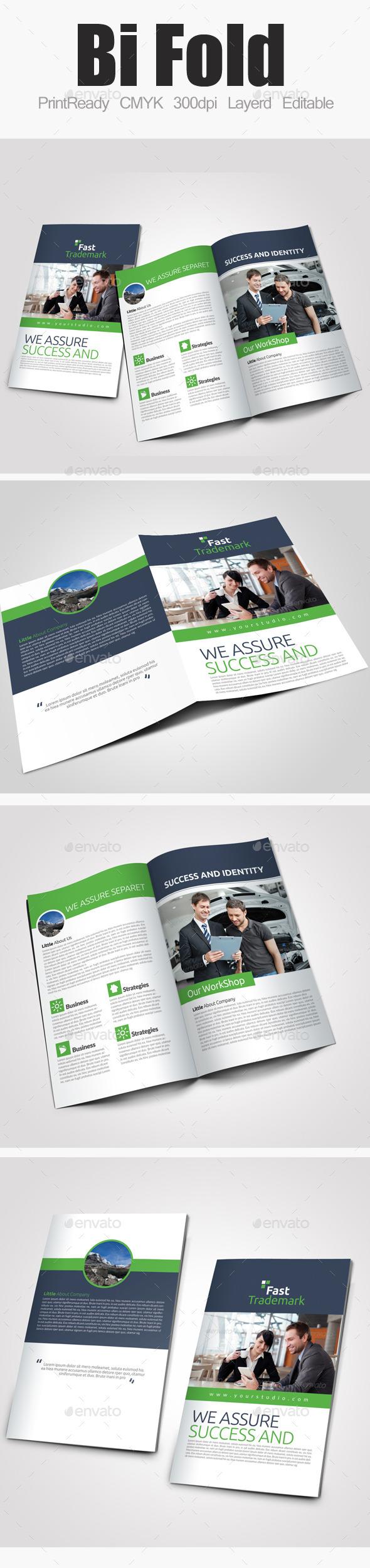 Bi Fold Business Brochure - Corporate Brochures