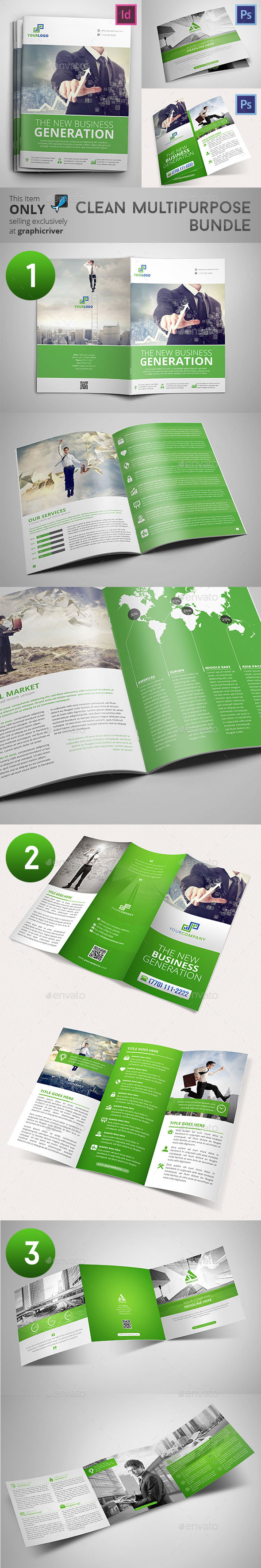 Clean Multipurpose Bundle - Informational Brochures