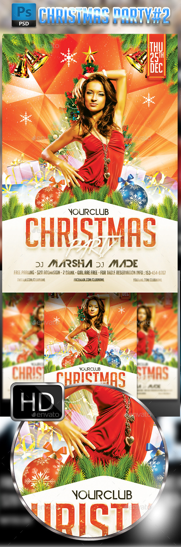 Christmas Party #2 - Clubs & Parties Events