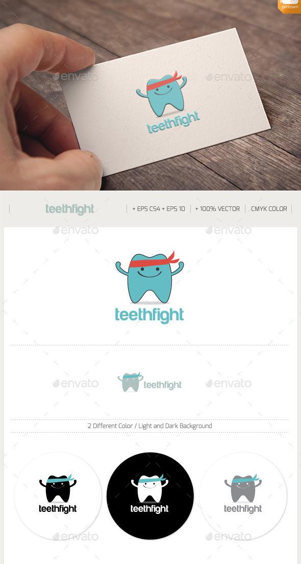 TEETH protect logo - Humans Logo Templates