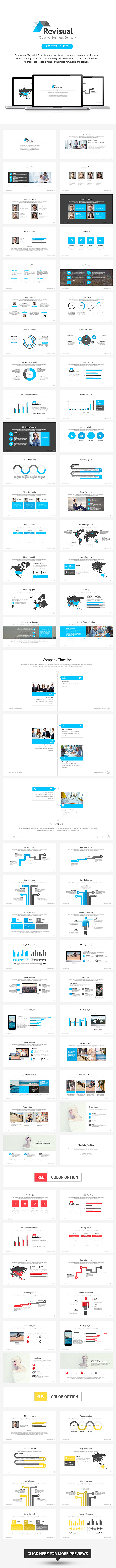 Revisual Powerpoint Template - Business PowerPoint Templates
