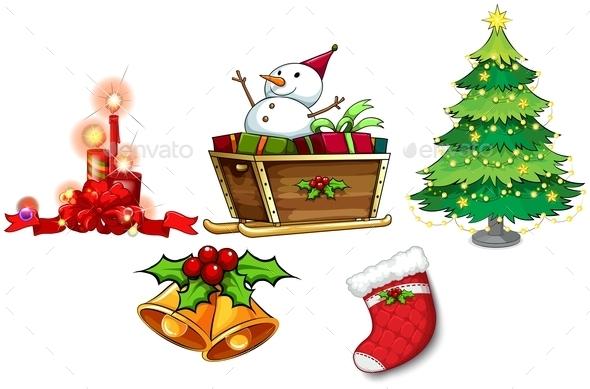 Different Symbols of Christmas - Christmas Seasons/Holidays