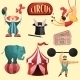 Circus Decorative Set - GraphicRiver Item for Sale