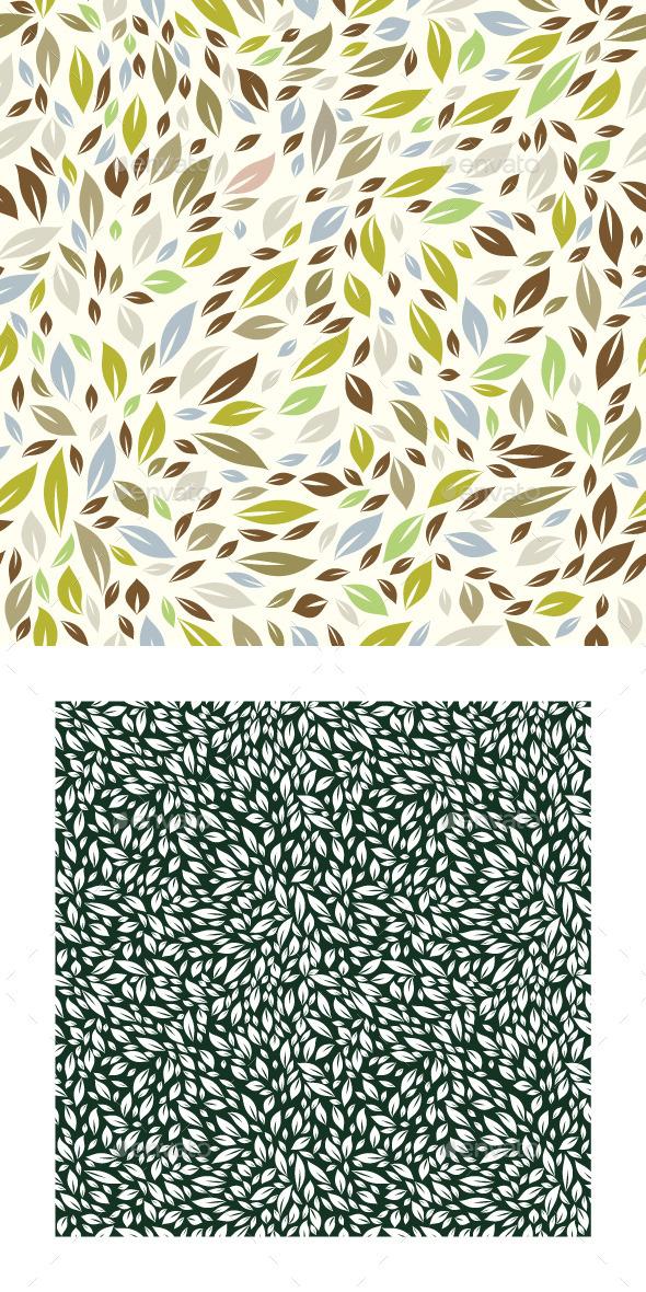 Forest Leaf Pattern - Patterns Decorative