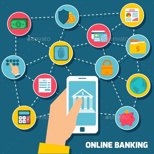 Online Banking Concept - Concepts Business
