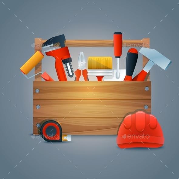 Repair Construction Toolbox - Miscellaneous Vectors