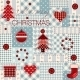 Christmas Background in Patchwork Style. - GraphicRiver Item for Sale
