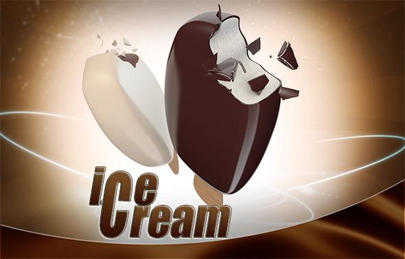 Ice Cream Eskimo - 3DOcean Item for Sale