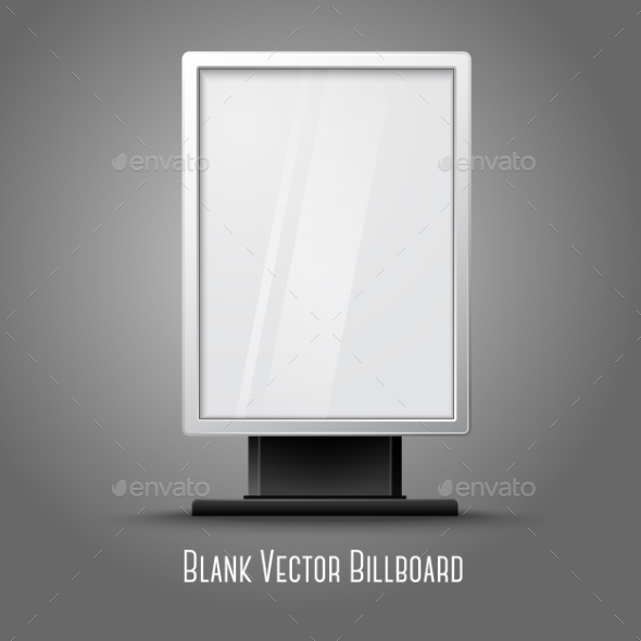 Blank Billboard - Man-made Objects Objects