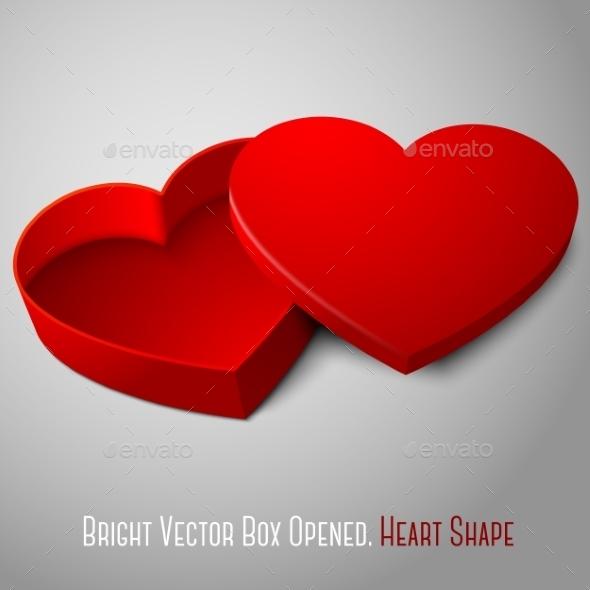 Heart Shaped Box - Man-made Objects Objects