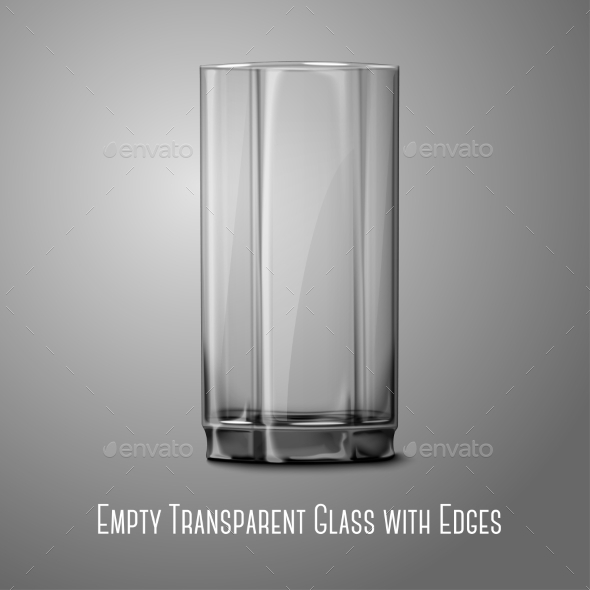 Empty Glass - Man-made Objects Objects