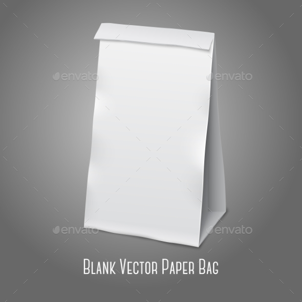 Blank Packaging Bag - Man-made Objects Objects