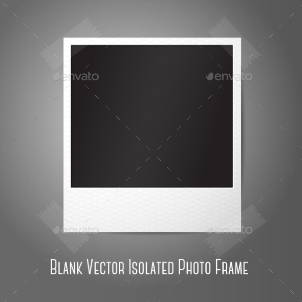 Blank Polaroid  - Man-made Objects Objects