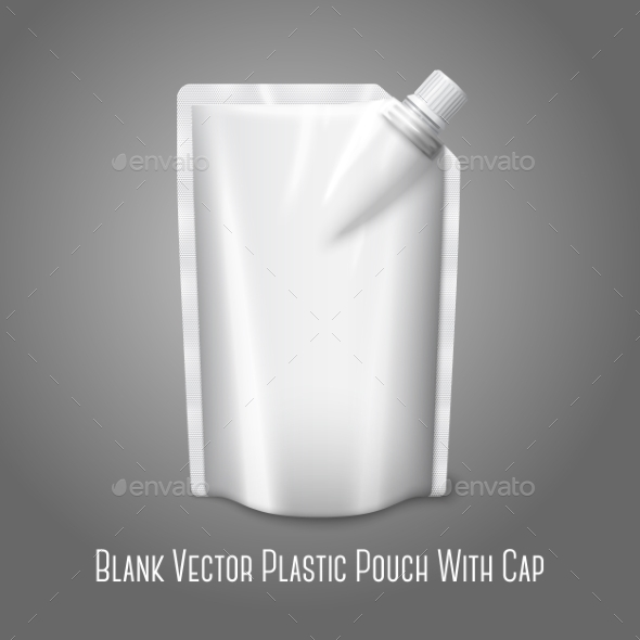 Blank Plastic Pouch - Man-made Objects Objects