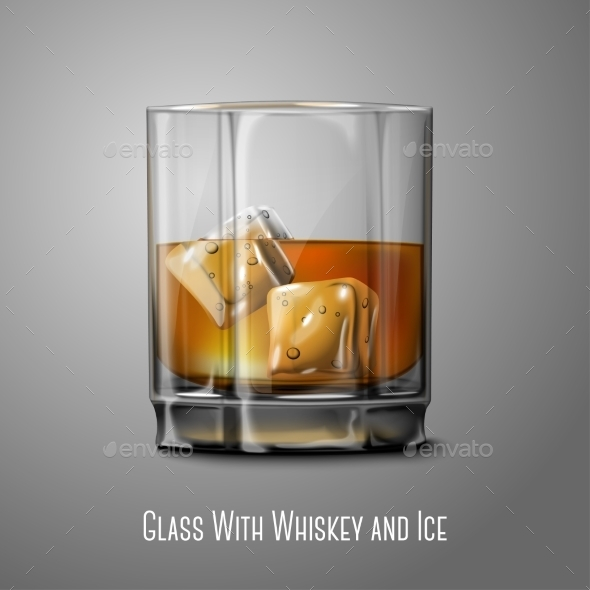 Whiskey Glass - Man-made Objects Objects