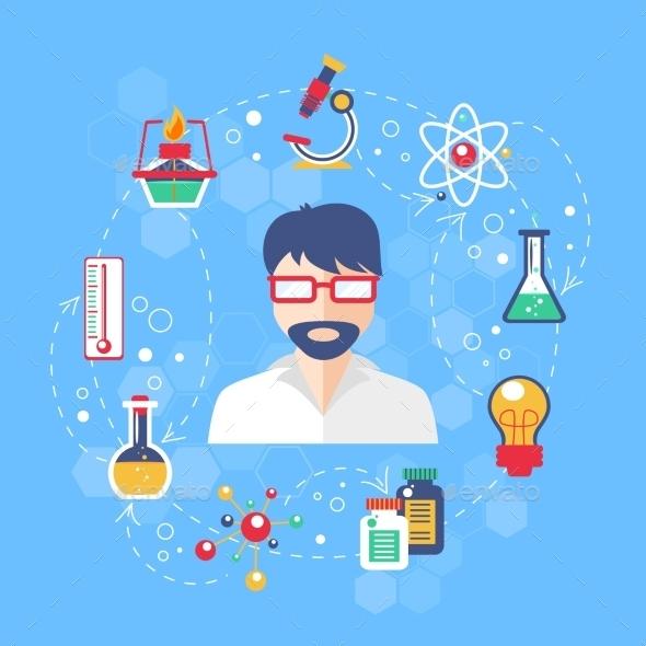 Chemistry Concept Illustration - Miscellaneous Conceptual