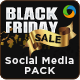 Black Friday Sale Social Media Design Pack - GraphicRiver Item for Sale