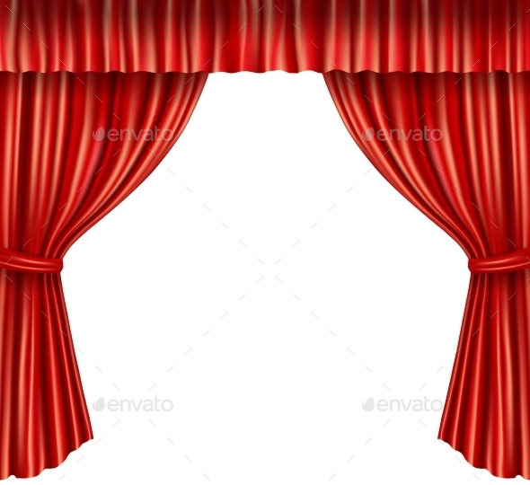 Theater Curtains - Backgrounds Decorative
