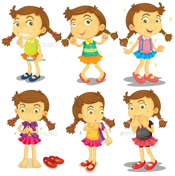 Young Girl - People Characters