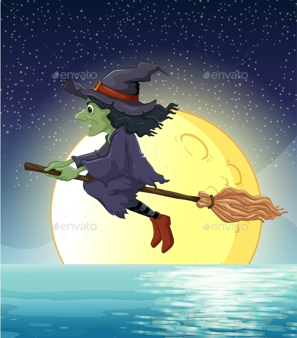 Witch and Fullmoon - People Characters