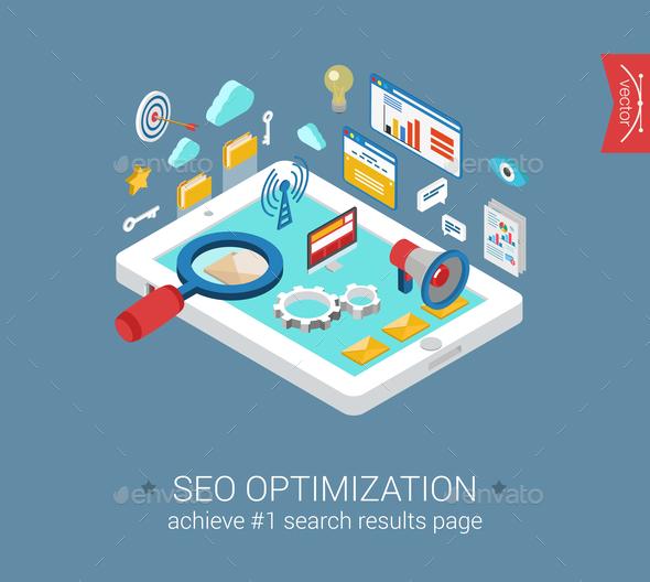 Seo Optimization Concept - Concepts Business