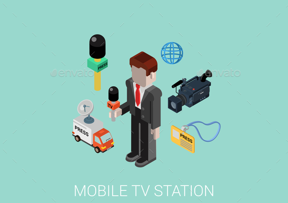 Mobile TV Station Concept - Communications Technology
