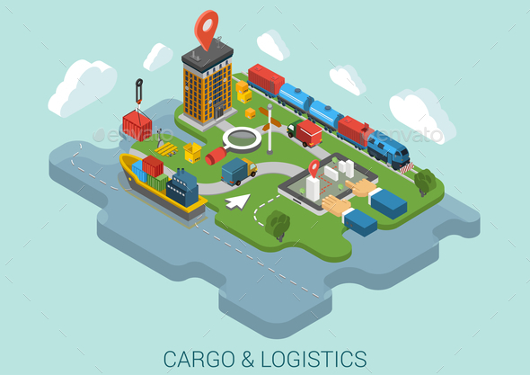 Cargo Delivery Concept - Concepts Business