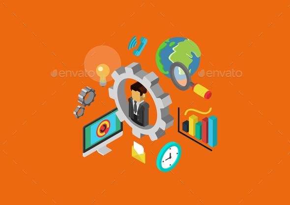 Web Concept - Concepts Business